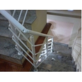 corrimão com vidro para escada valor Campo Belo