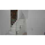 corrimão de inox para escada preço Vila Clementino