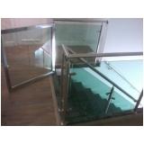 corrimãos de inox para escadas Alto de Pinheiros
