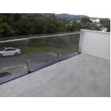 cotação de para peito para varanda de vidro Jardim Bonfiglioli