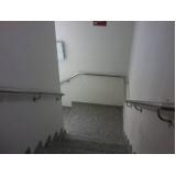 onde encontro venda de corrimão de inox para parede Água Chata