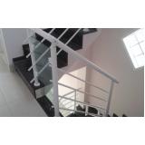 para peito de alumínio para escada preço Jardim São Luiz