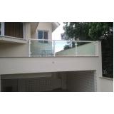 para peitos de alumínio com vidro Cidade Jardim