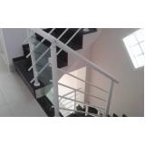 venda de corrimão de inox para escada preço Água Azul