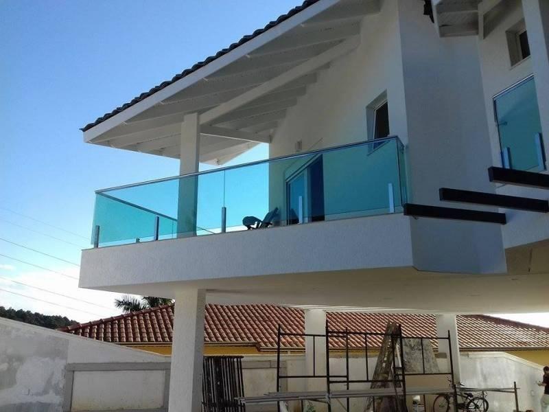 Corrimão com Torre de Inox Preço Alphaville Comercial - Corrimão com Vidro Temperado