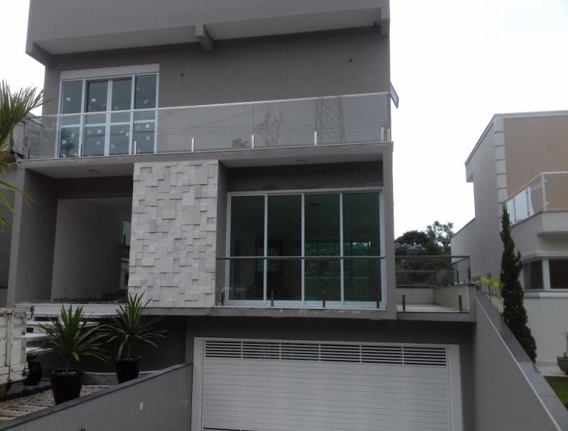 Corrimão de Inox com Vidro Jardim Paulistano - Corrimão de Inox para Banheiro