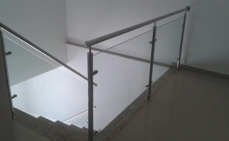 Corrimãos de Inox sob Medida Cupecê - Corrimão de Inox para Escada
