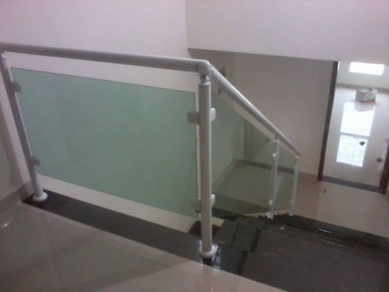 Onde Encontrar Venda de Guarda Corpo de Vidro para Escada Jardim Paulistano - Venda de Guarda Corpo com Torre Inox