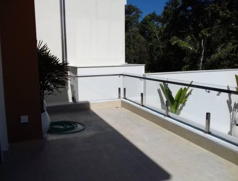 Onde Encontro Corrimão Aço Inox com Vidro Vila Sônia - Corrimão de Torre com Vidro