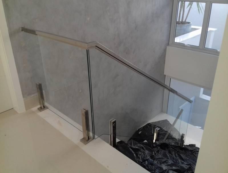 Onde Encontro Corrimão de Vidro com Torre Residencial Sete - Corrimão com Vidro para Escada
