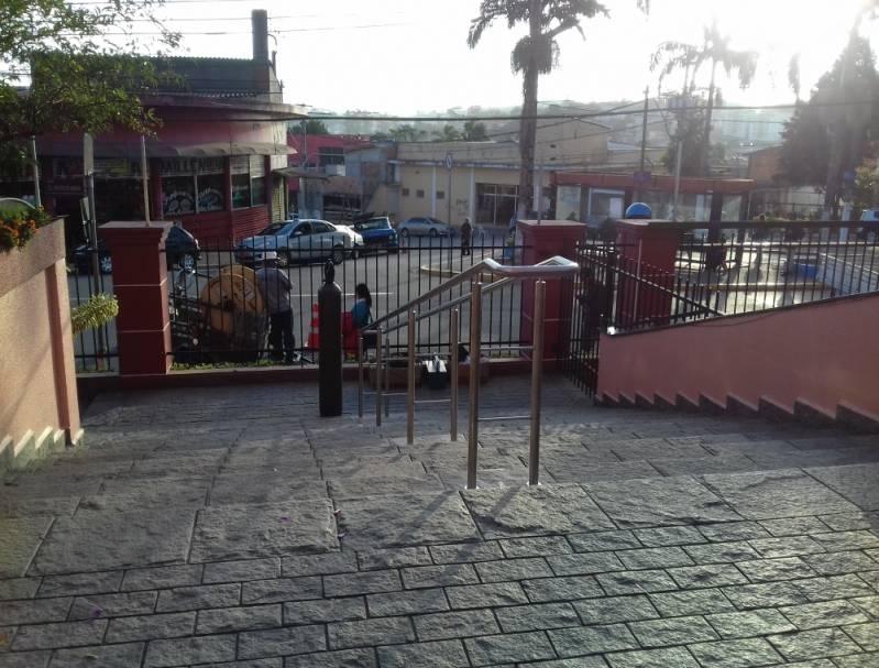 Onde Encontro Venda de Corrimão de Inox para Banheiro Vila Clementino - Venda de Corrimão de Inox com Vidro
