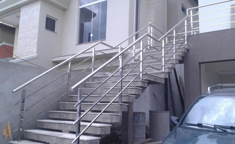 Orçamento de Corrimão de Inox para Escada Maia - Corrimão de Inox para Banheiro