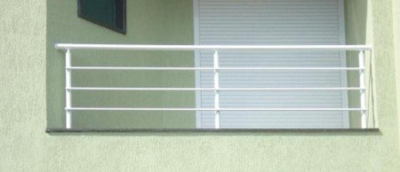 Quanto Custa Corrimão de Aço Galvanizado Pacaembu - Corrimão com Vidro