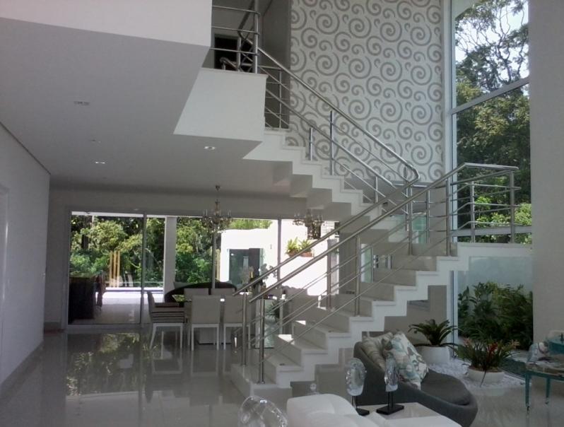 Quanto Custa Corrimão de Inox para Escada Vila Romana - Corrimão de Inox para Banheiro