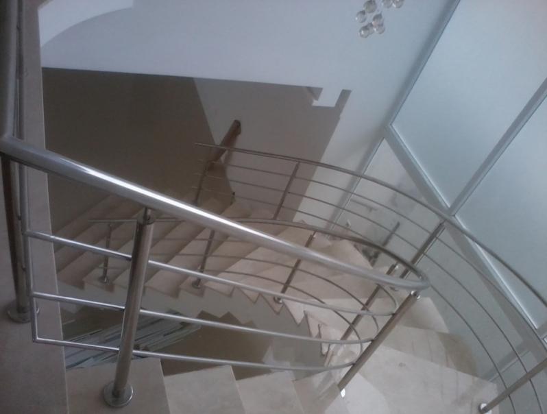 Quanto Custa Corrimão para Escada Helicoidal Jardim Fortaleza - Corrimão Articulado