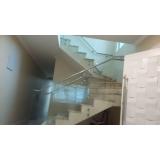 corrimão de inox para escada M'Boi Mirim
