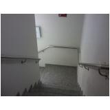 corrimão de inox para parede preço Itapegica