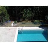 corrimão de inox para piscina Residencial Quatro