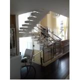 corrimão para escadas preço Alphaville Residencial Dois
