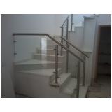 corrimão para escadas Residencial Dois