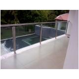 corrimãos de inox para piscinas Água Chata