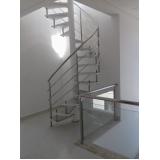 corrimãos para escadas helicoidais Vila Barros