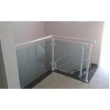 cotação de guarda corpo de alumínio e vidro Gopoúva