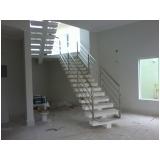 cotação de para peito de escada Residencial Seis
