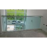 cotação de para peito de vidro Vila Romana