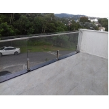 cotação de para peito para varanda de vidro Vila Mariana