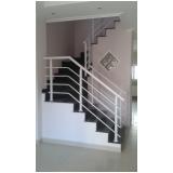 empresa de para peito de alumínio para escada Residencial Seis