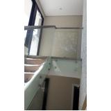 onde encontro suporte para corrimão de escada Residencial Cinco