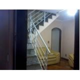 onde encontro venda de corrimão de inox para escada Vila Augusta