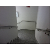 onde encontro venda de corrimão de inox para parede Alphaville Residencial Plus