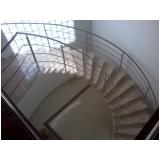 orçamento de corrimão para escada helicoidal Alphaville Residencial Dois