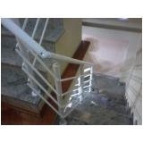 para peitos de alumínio para escadas Moema