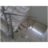 quanto custa para peito de escada Residencial Seis