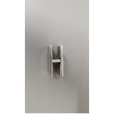 suporte para corrimão de vidro valor Água Branca