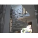 venda de corrimão de inox para escada caracol preço Residencial Sete
