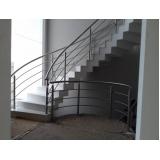 venda de corrimão de inox para escada valor Alphaville