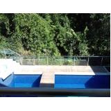 venda de corrimão de inox para piscina valor Monte Carmelo