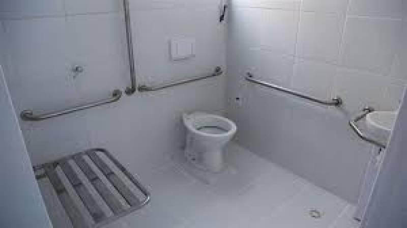 Venda de Corrimão de Inox para Banheiro Valor Moema - Venda de Corrimão de Inox com Vidro