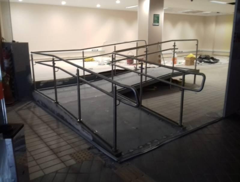 Venda de Corrimão de Inox para Banheiro Alphaville Residencial Plus - Venda de Corrimão de Inox com Vidro